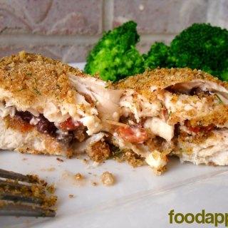 Greek Stuffed Chicken at FoodApparel.com