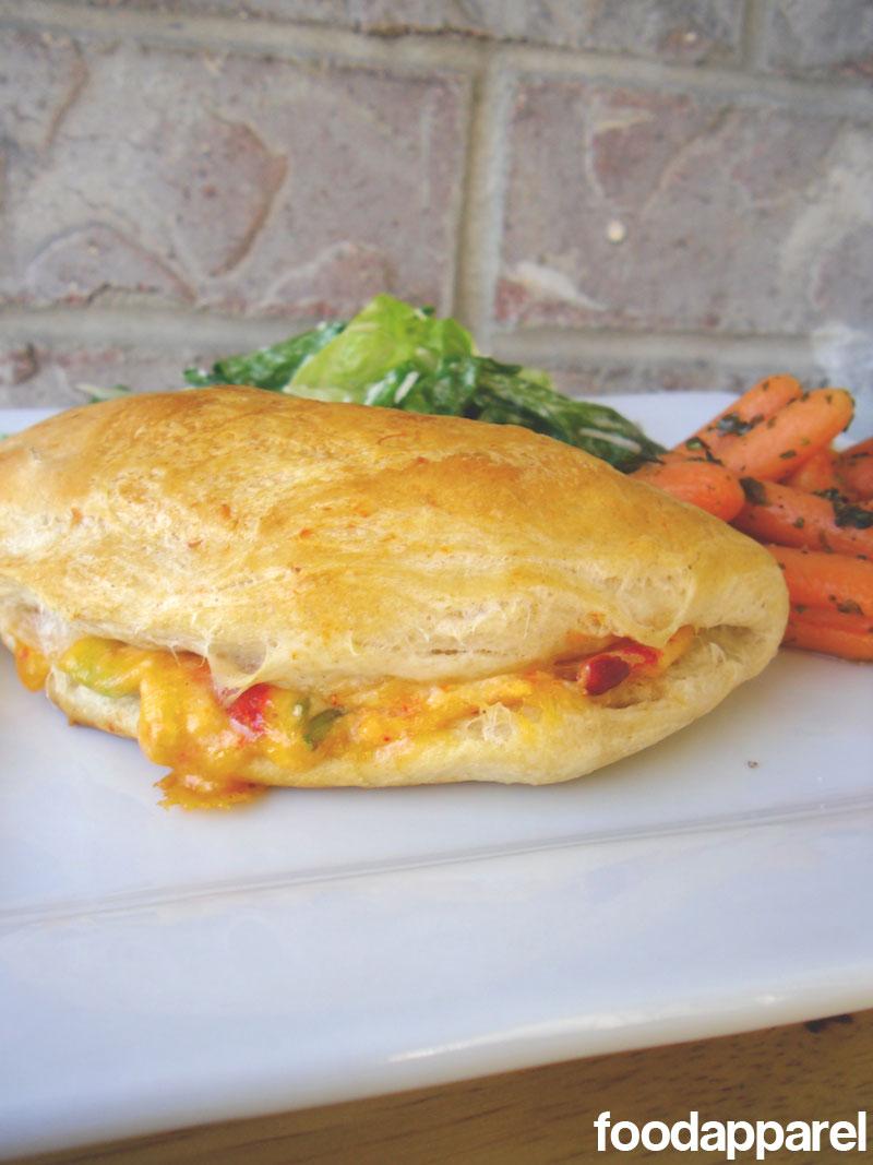 Cheesy Chicken Pillows at FoodApparel.com