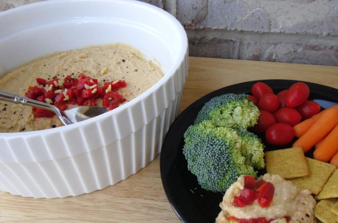 Roasted Red Pepper Hummus at FoodApparel.com