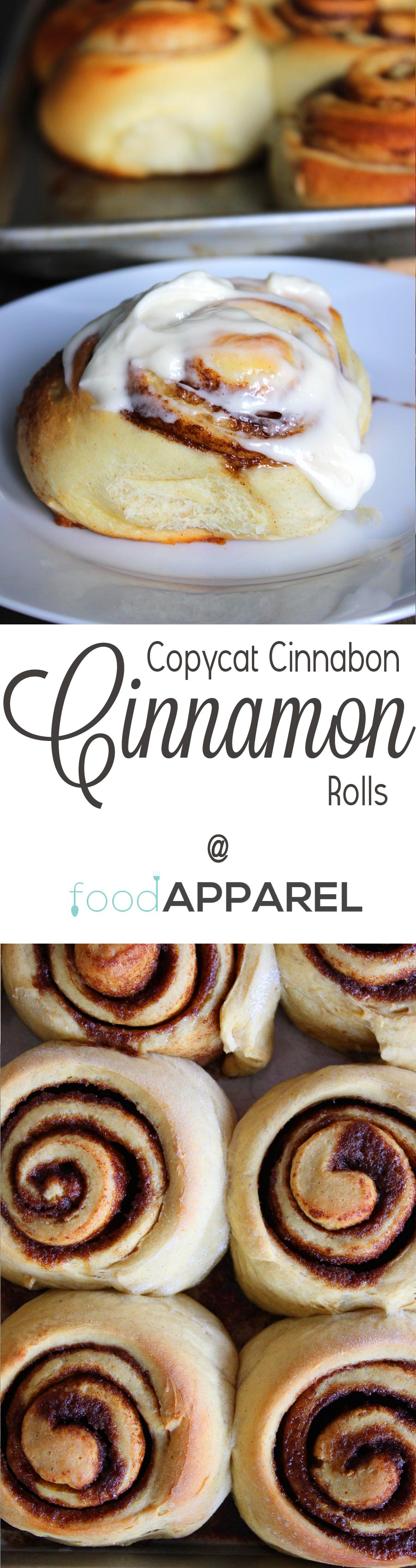 Copycat Cinnabon Cinnamon Rolls! Except, here's the secret - they are actually BETTER!