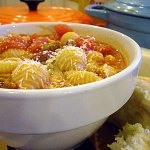 Pasta e Fagioli at FoodApparel.com