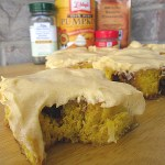 Pumpkin Cinnamon Rolls with Pumpkin Cream Cheese Frosting at FoodApparel.com