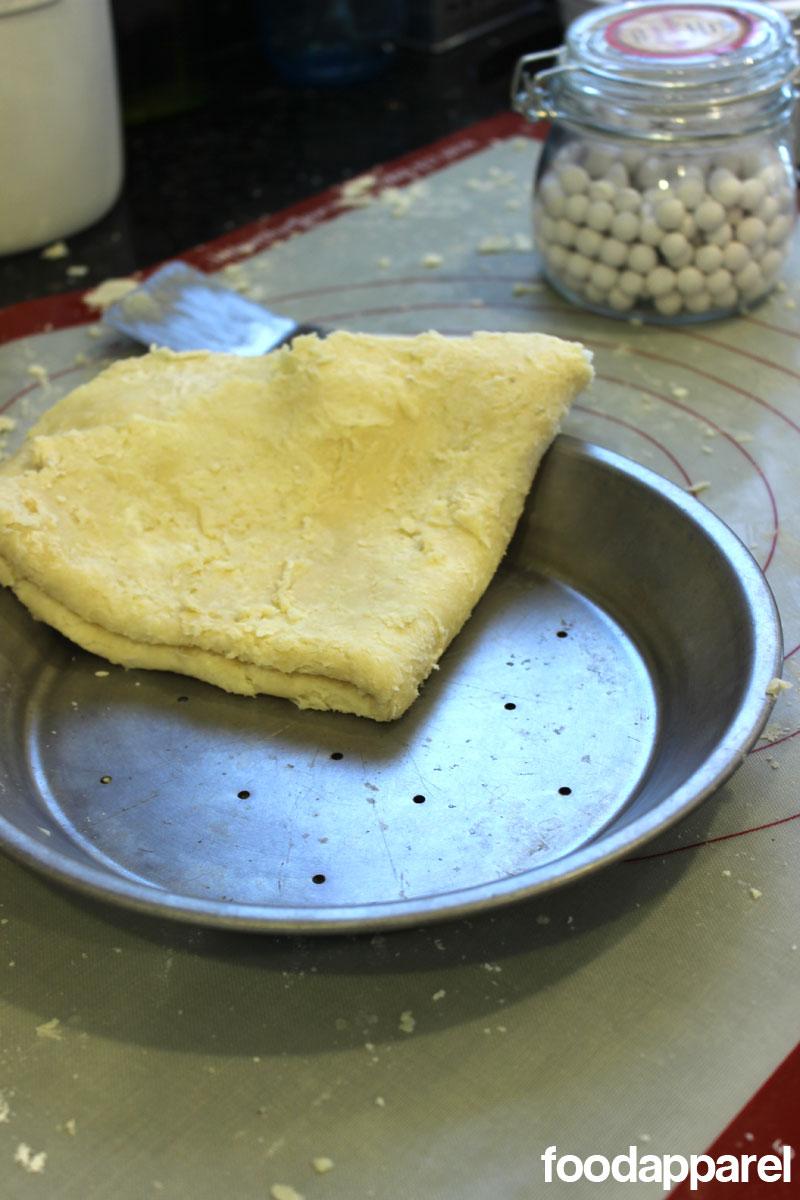 All Butter Flaky Pie Crust Recipe (Double Crust Recipe) | Food Apparel