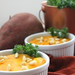 Pureed Yams with Ginger and Pine Nuts at FoodApparel.com
