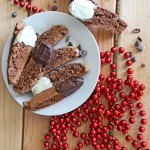 Chocolate Biscotti with Cinnamon and Cocoa Nibs at FoodApparel.com