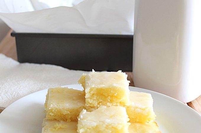 Lemon Blondies at FoodApparel.com