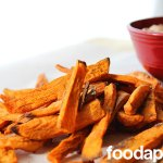 Sweet Potato Fries with Smoky Chipotle Dip at FoodApparel.com