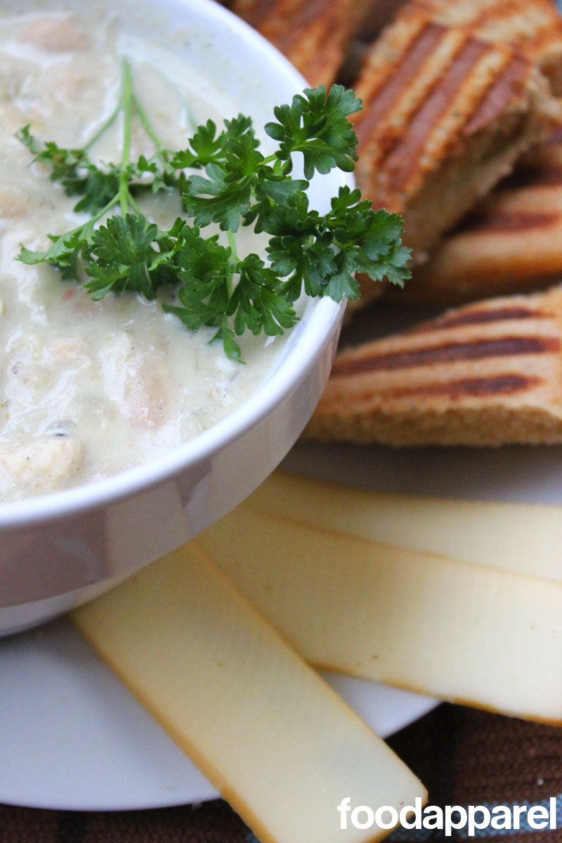White Chicken Chili on FoodApparel.com