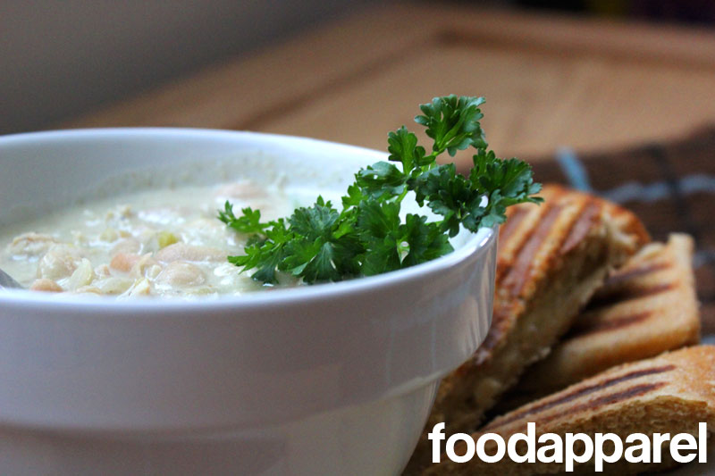 White Chicken Chili on FoodApparel.com
