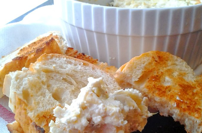 Basic Hot Cheesy Artichoke Dip Recipe