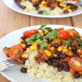 Quinoa Vegan Burrito Bowl at FoodApparel.com