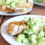 Grilled Chicken with Honeydew Salsa at FoodApparel.com
