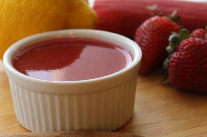 Easy Strawberry Rhubarb Sauce Recipe