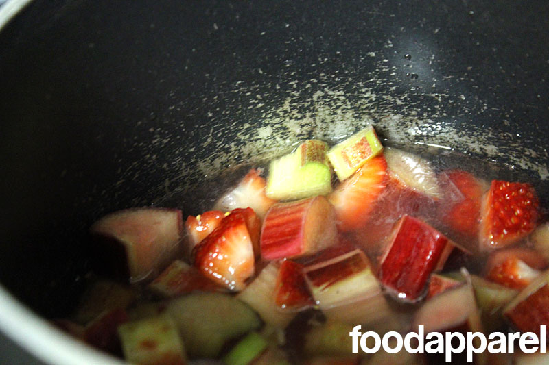 Strawberry Rhubarb Sauce at FoodApparel.com