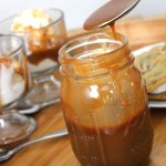 THE BEST caramel sauce ever. I kid you not, it's hands-down amazing! (FoodApparel.com)
