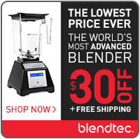 Blendtec 30 off and free shipping