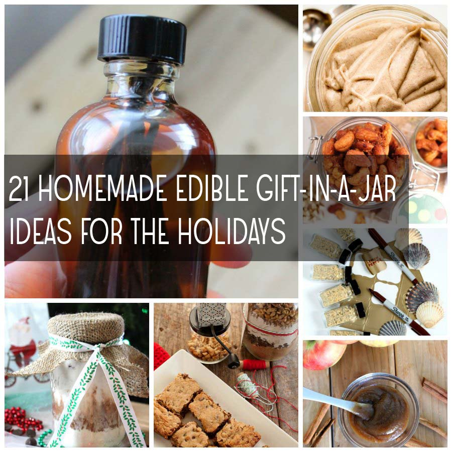 21 Homemade Edible Gift In A Jar Recipes For The Holidays Food Apparel