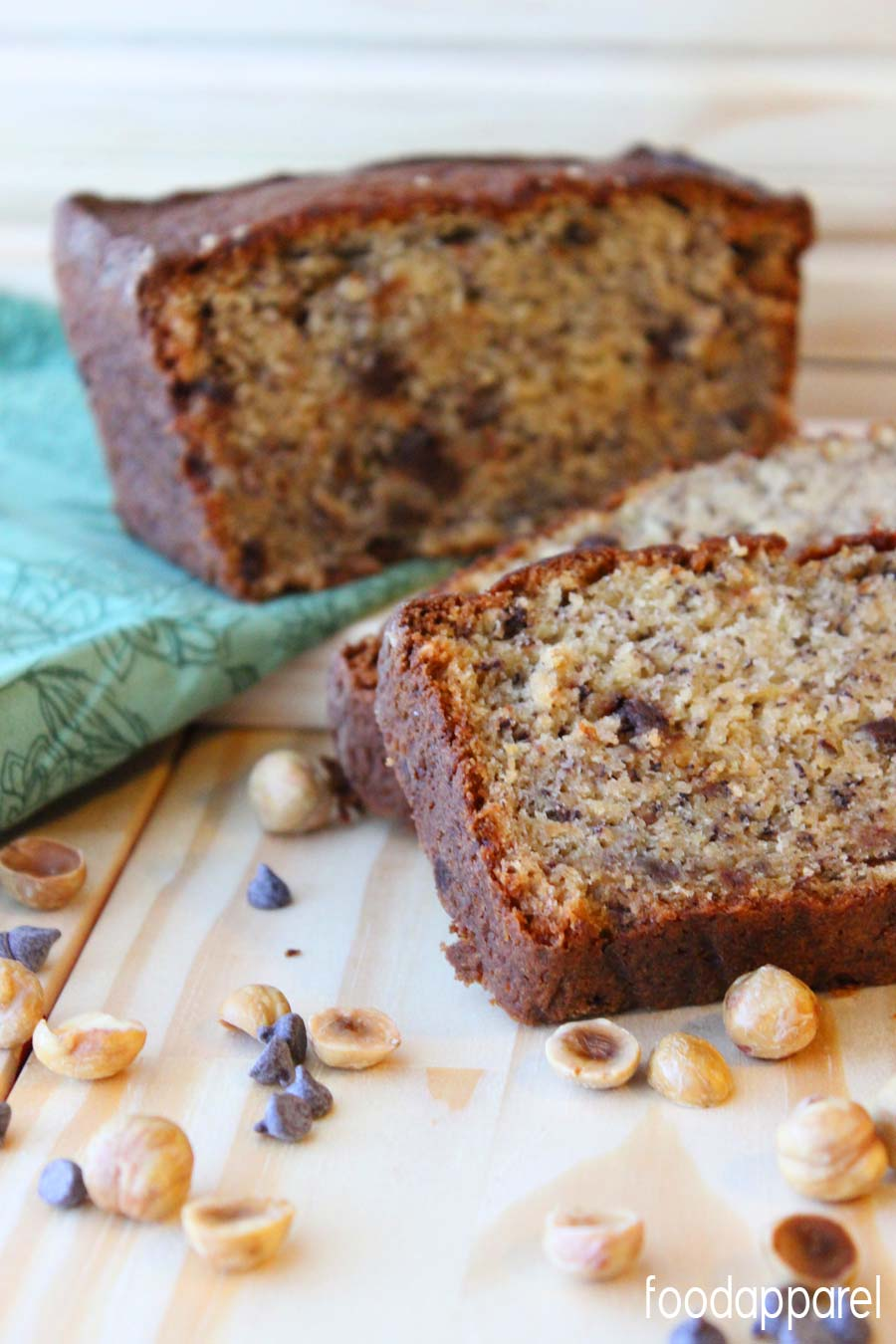 Hazelnut banana bread recipe or muffins food apparel hazelnut banana bread foodapparel forumfinder Images