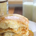 Light and Fluffy Oatmeal Pancakes - Yummy!