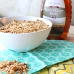 Sweet Golden Honey Granola - perfect for breakfast or snacking! @foodapparel