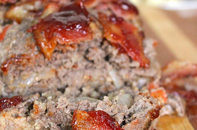 Barbecue Bacon Meatloaf Recipe! Because everything's a little better with bacon.....