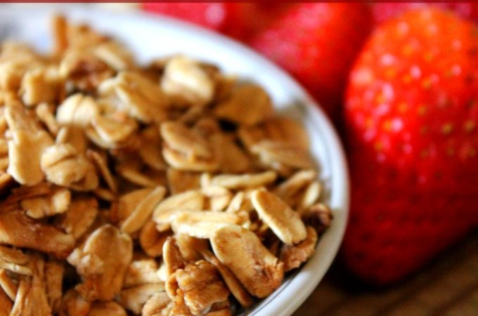 Easy and Healthy 5-Ingredient Granola Recipe