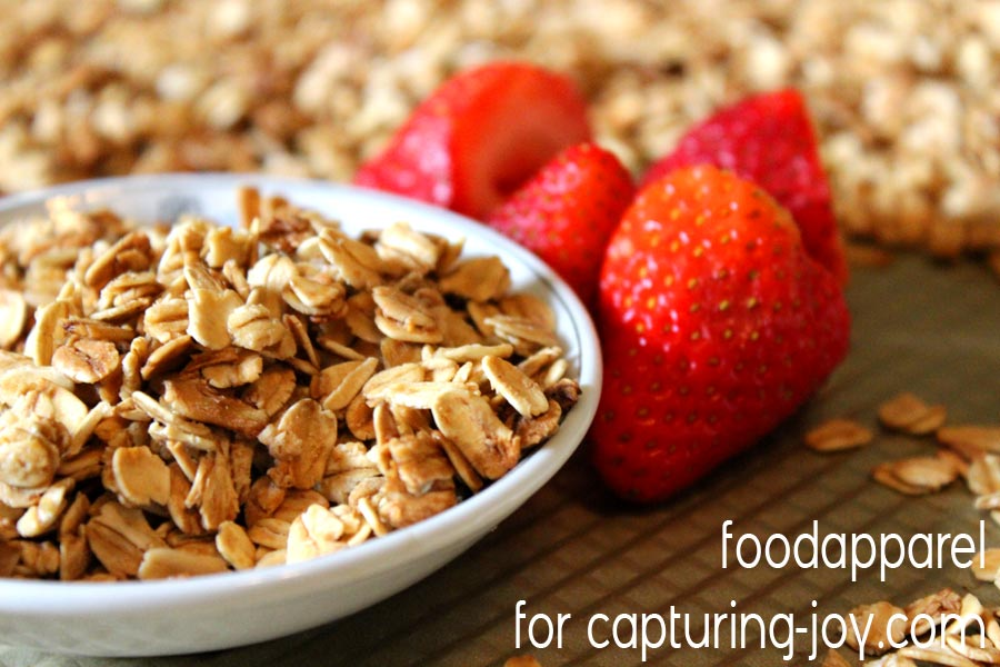 Easy and Healthy 5-Ingredient Granola!