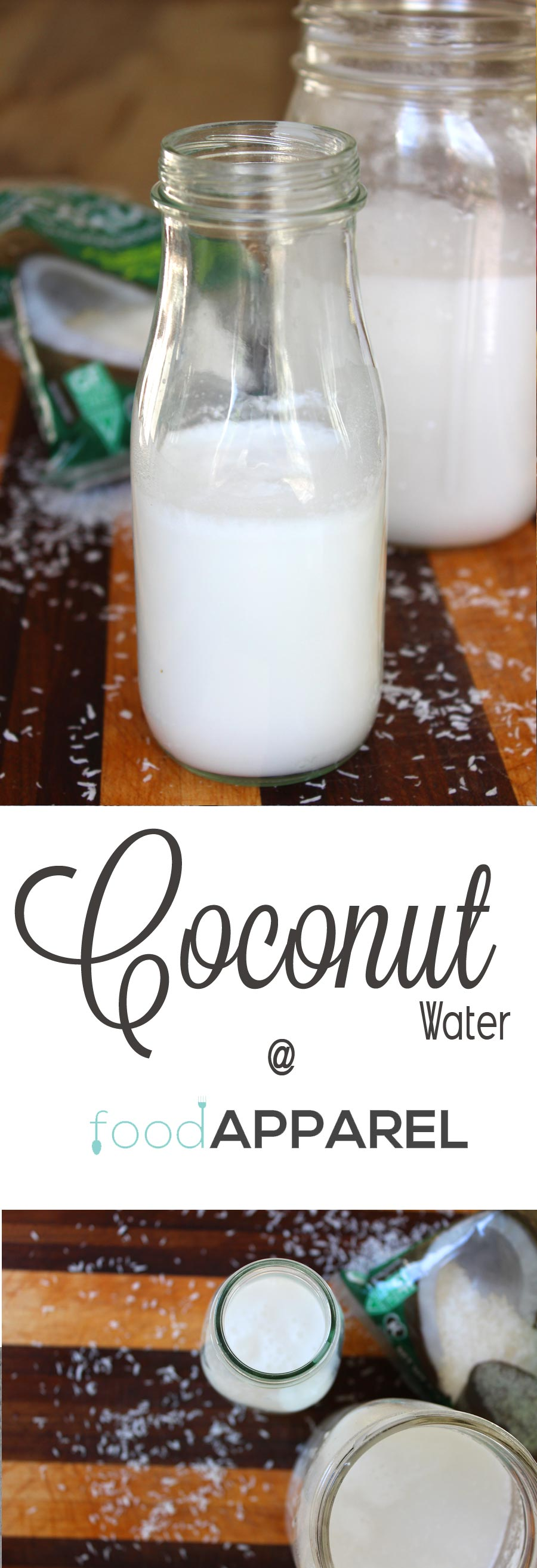 Homemade Coconut Milk - easy to make in your blender!