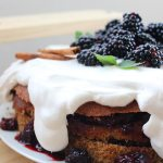 Blackberry Spice Cake Recipe - the blackberry is such a great combo with the Fall spices. So yummy!