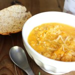 Crockpot Chicken Butternut Squash Stew Recipe - a perfect hands-off recipe for Fall!
