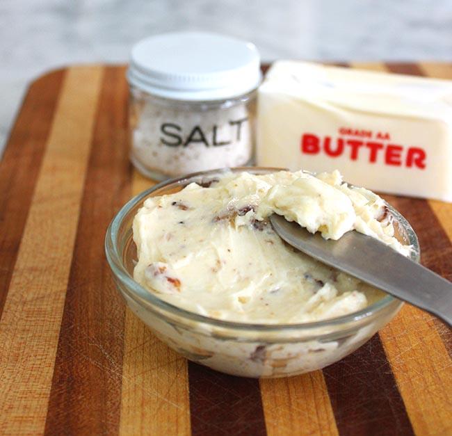 How to Make Garlic Truffle Butter