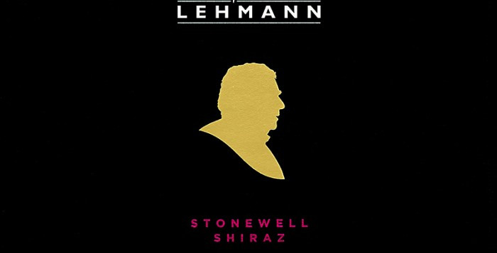 Black label of Peter Lehman Shiraz Wine