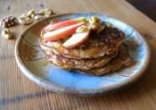 Apple Walnut Pancakes - Grain Free