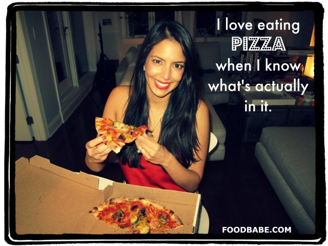 Pizza Vani Food Babe