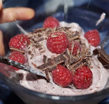 frozen yoghurt acai