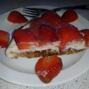 jordbærtærte med julie