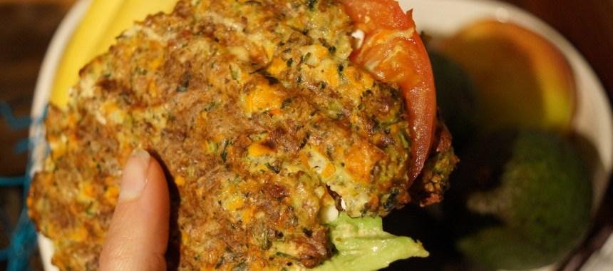Grøntsagsbrød med edamamebønner og spinat