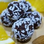 Lakridskugler - uden sukker, gluten eller laktose