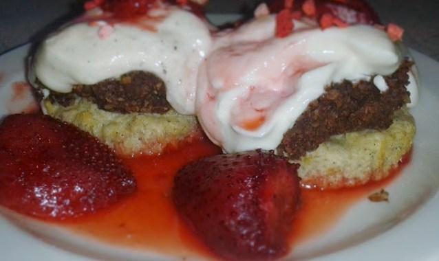 Sund Morgenmad: Vanillemuffins med sund nutella og skyr-creme
