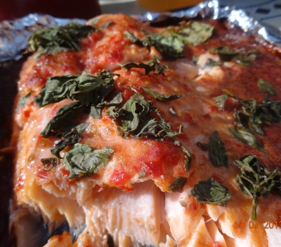 Pulled salmon