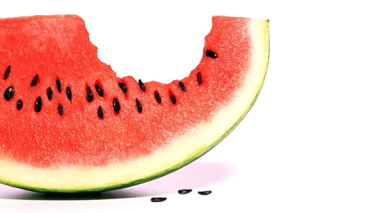 Wedge of watermelon