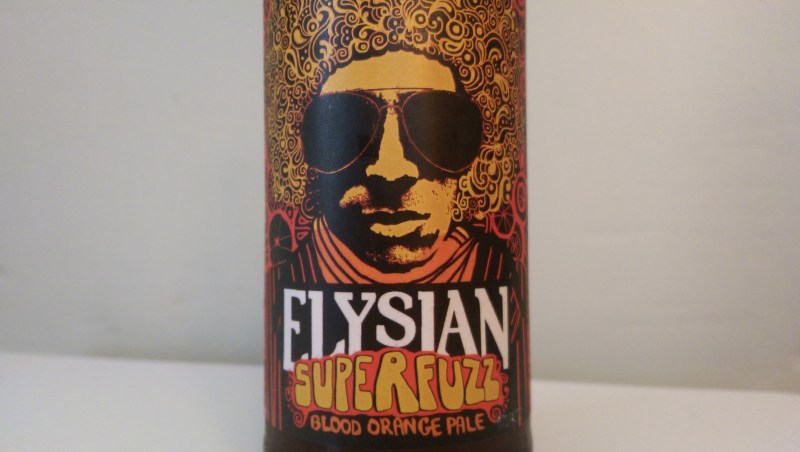 Elysian Superfuzz is a Pale Ale brewed with Blood Oranges.