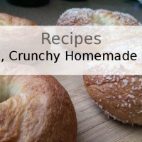 Chewy, Crunchy Homemade Bagels