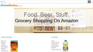 Going Grocery Shopping On Amazon Prime Pantry?