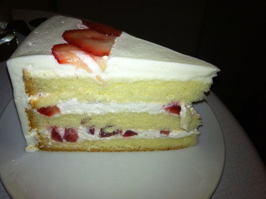 Lady M Strawberry Shortcake