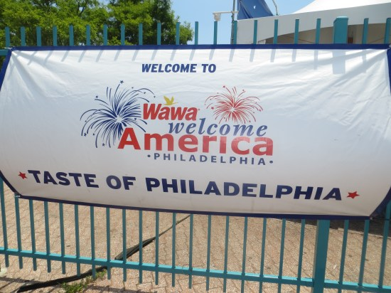 Taste of Philadelphia banner