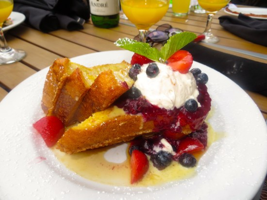 Creme Brule French Toast - green eggs cafe