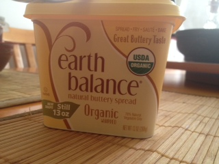 Organic Earth Balance Butter
