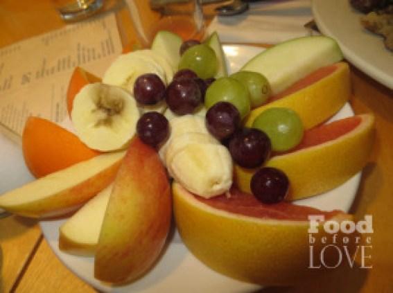 Bongo Room fruit