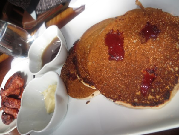 Corcho Wine Bar Guava Pancakes
